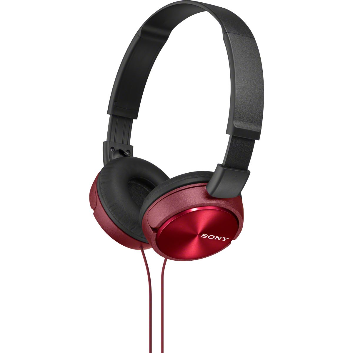 Casque audio sony mdrzx310 rouge (photo)