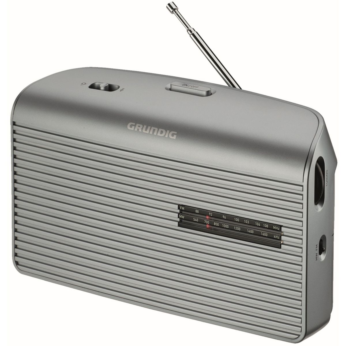 Radio grundig music 60 l gris (photo)