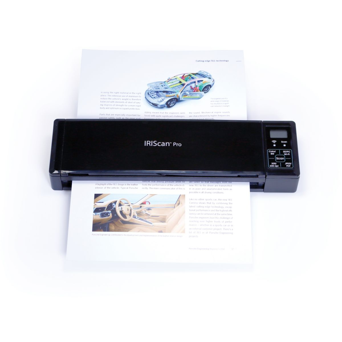 Scanner portable iris iriscan pro 3 wifi - livraison offerte : code premium