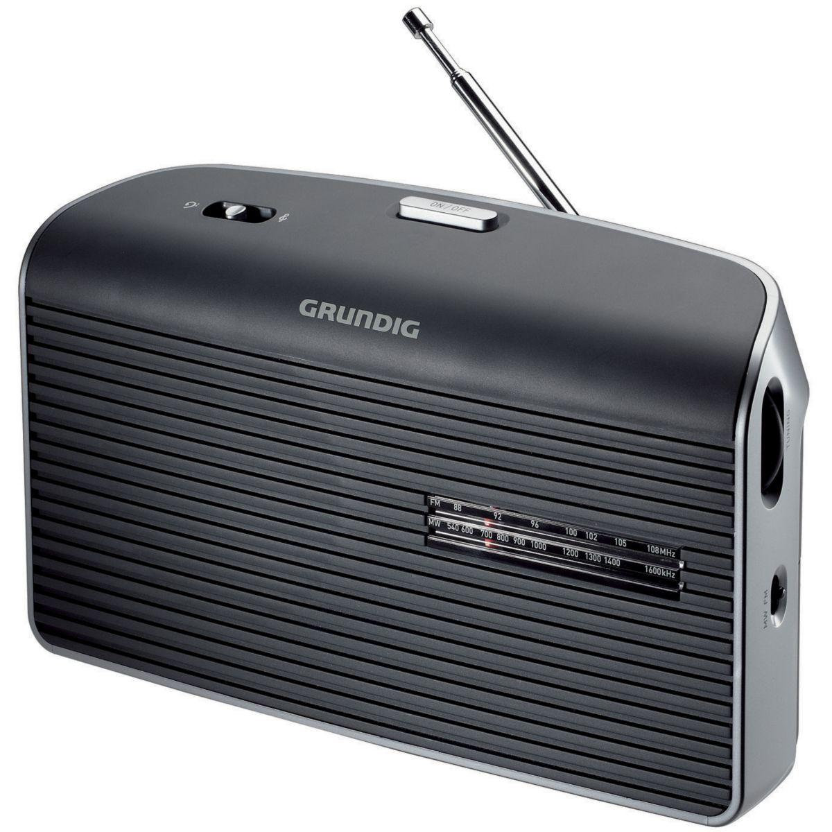 Radio grundig music 60 l noir - 2% de remise imm�diate avec le code : wd2 (photo)