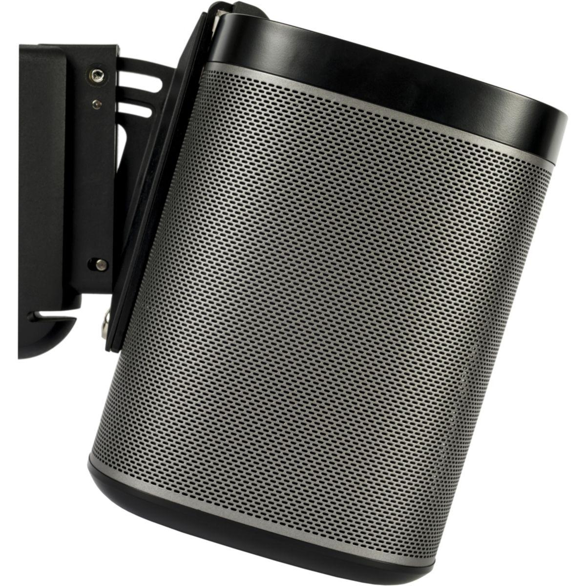Support enceinte flexson support sonos play:1 noir - livraison offerte : code premium (photo)
