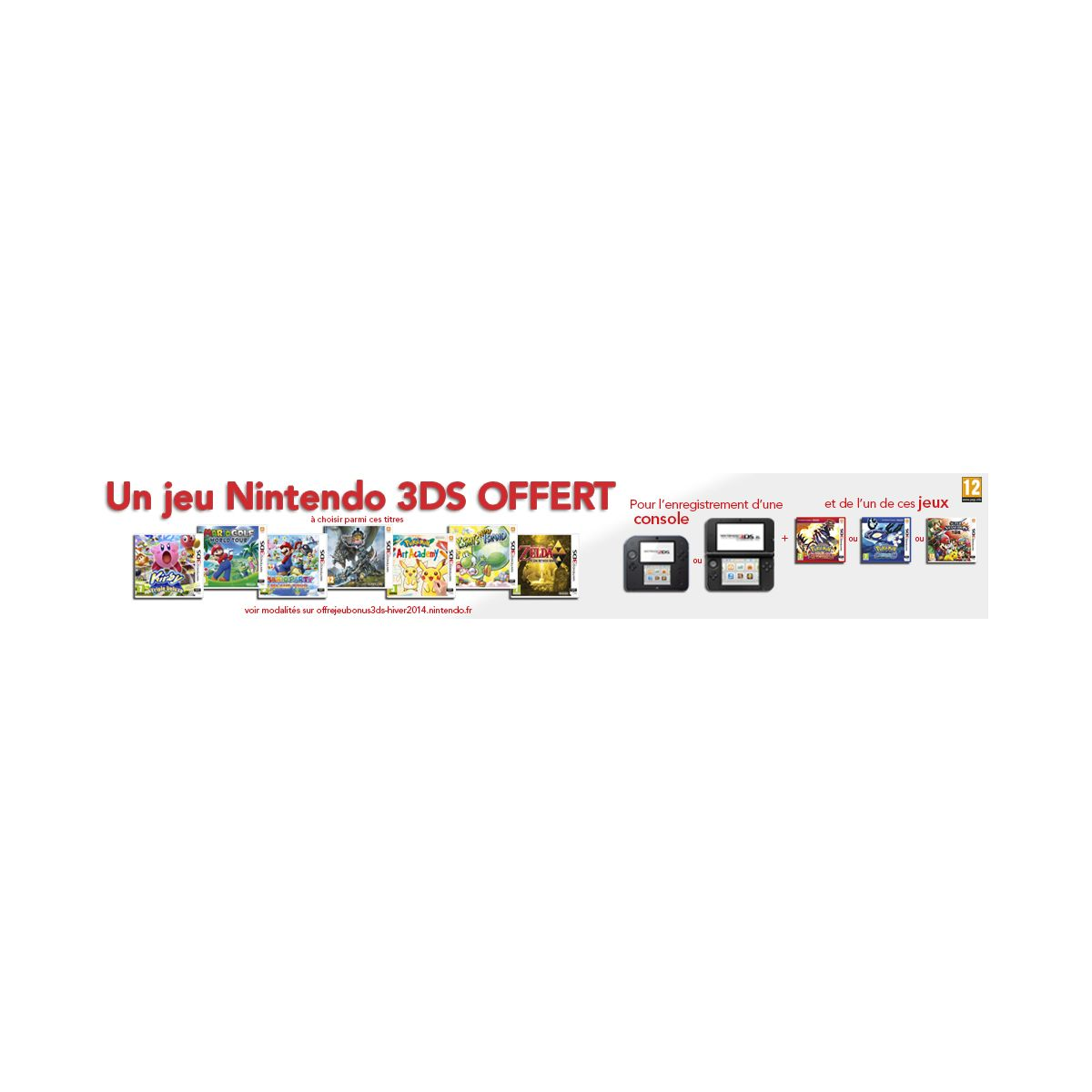 Console 2ds nintendo 2ds rose/blanche + tomodachi life (photo)