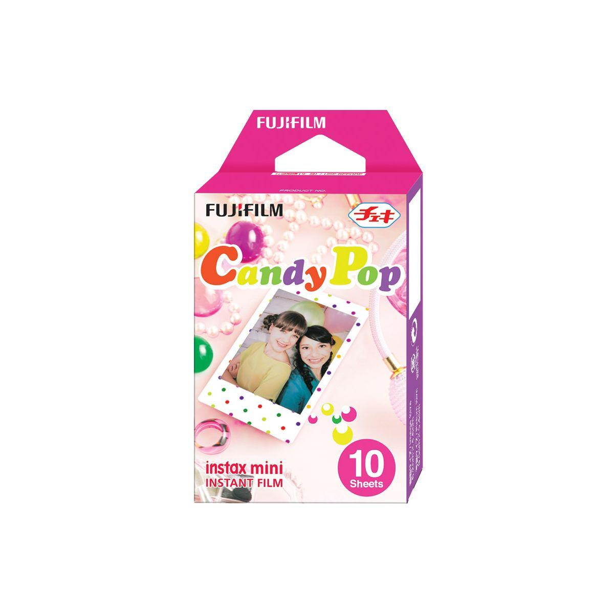 Papier photo instantan� fuji film instax mini candy pop (x10)