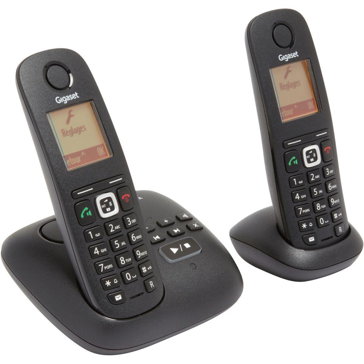 Téléphone répondeur sans fil duo gigaset a540a - livraison offerte avec le code livofferte (photo)