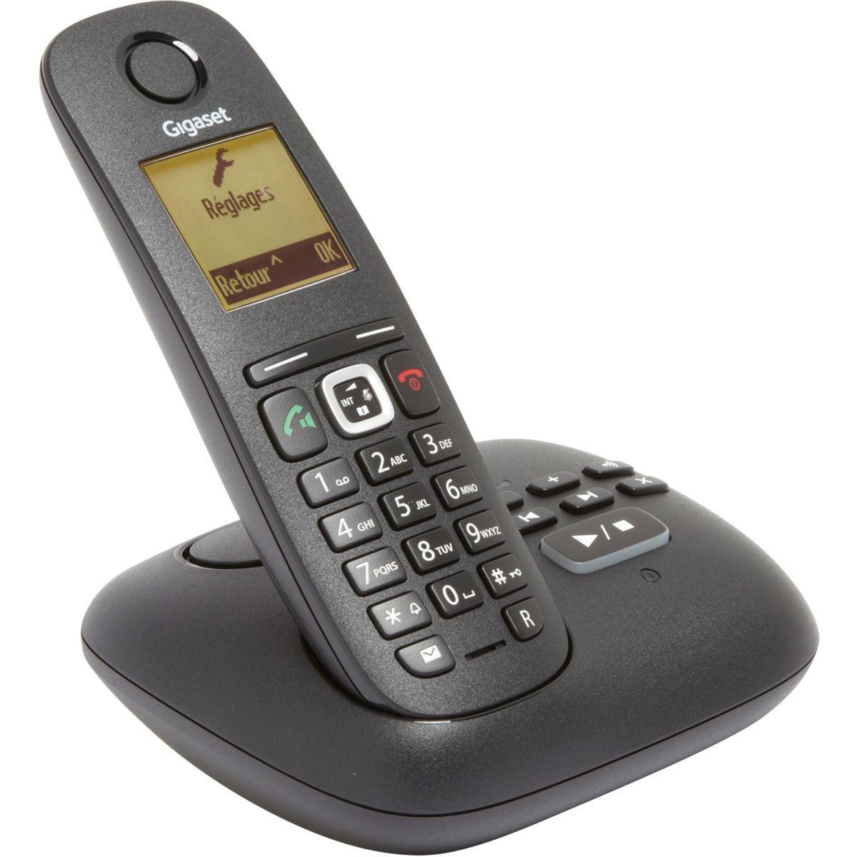 Téléphone répondeur sans fil gigaset a540a - livraison offerte avec le code livofferte (photo)