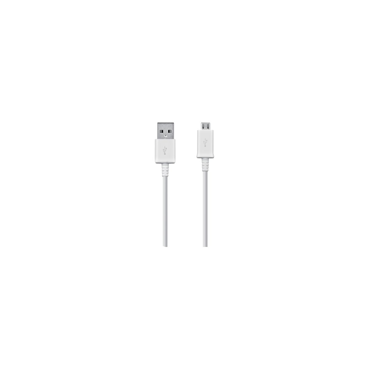 Usb samsung usb - micro usb 2.0 blanc 1 (photo)