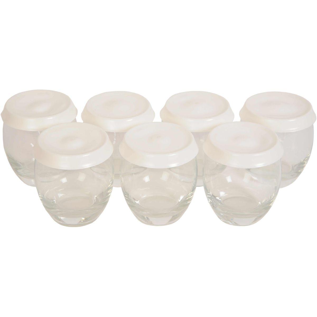 Pots seb x7 pots en verre couvercle pour - 5% de remise immédiate avec le code : cool5 (photo)