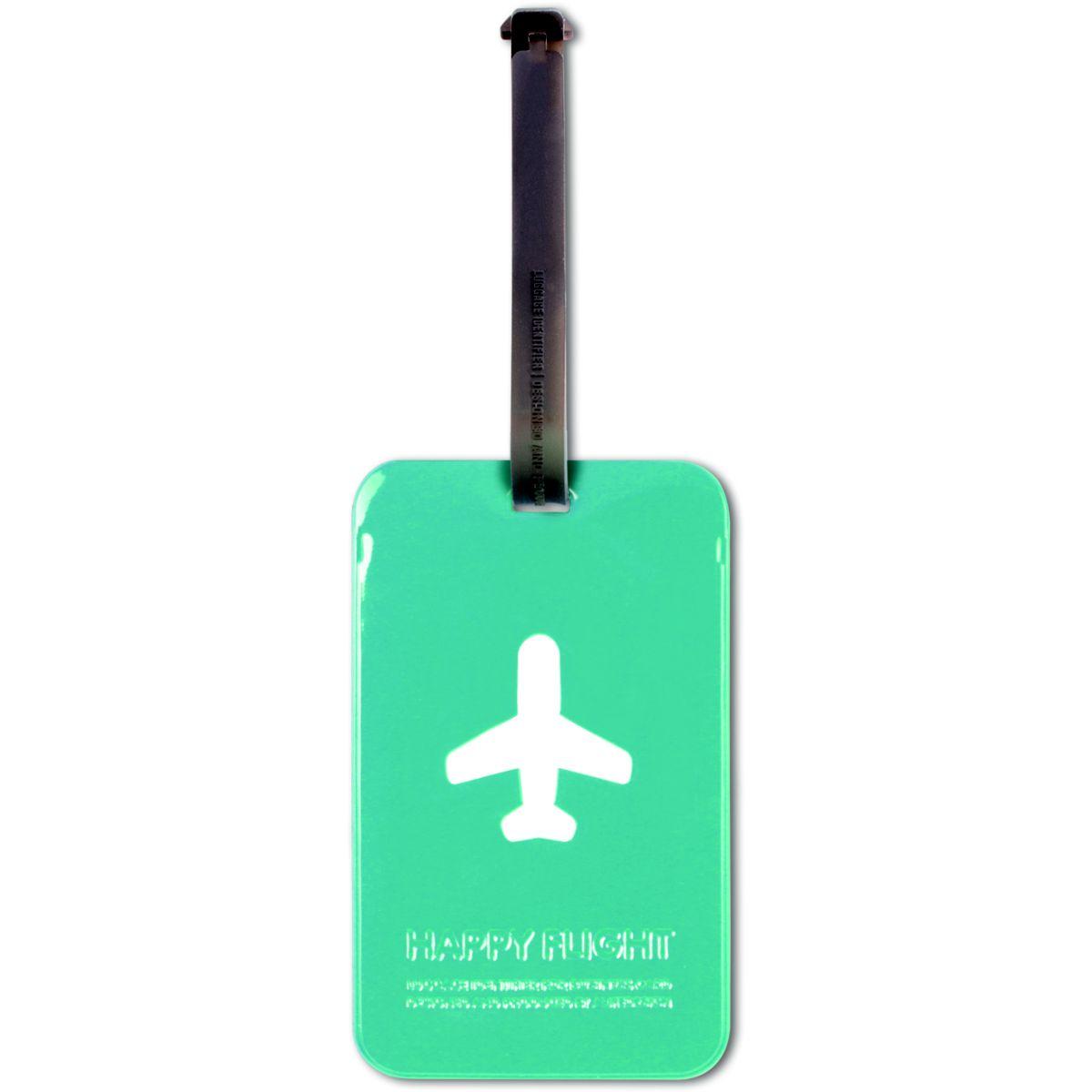 Accessoire alife etiquette valise bleue (photo)