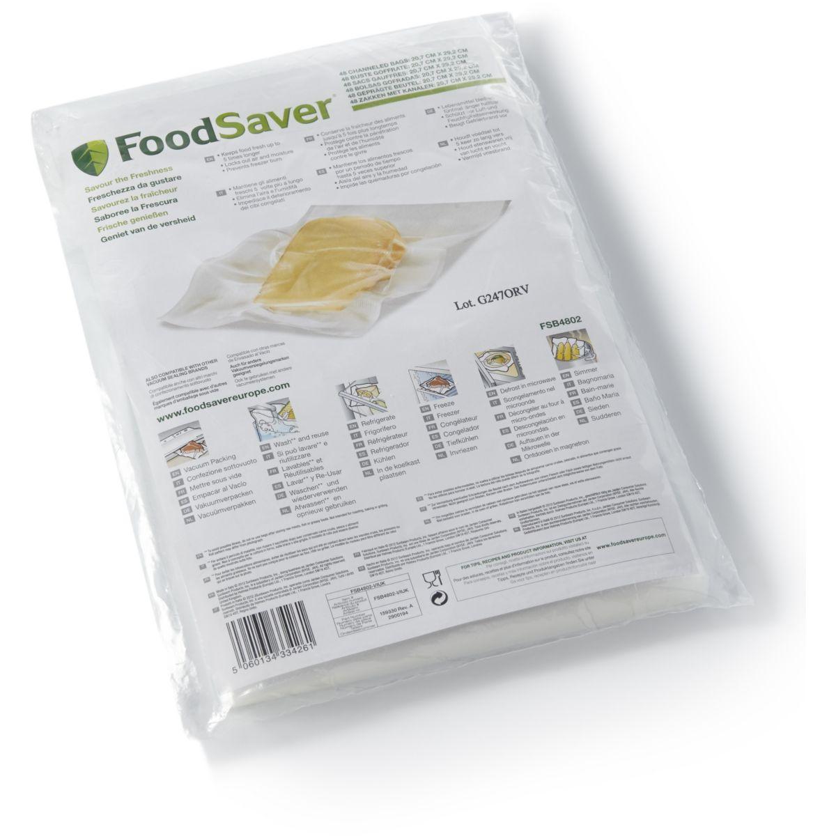 Boîte food saver 48 sacs x 0.94 l - 5 ep - 20% de remise immédiate avec le code : cool20 (photo)