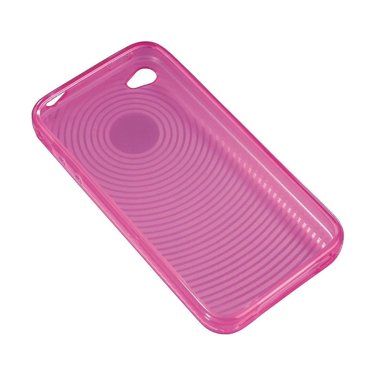Coque hama 107108 coque spirale rose iphone 4/4s - 10% de remise immédiate avec le code : multi10