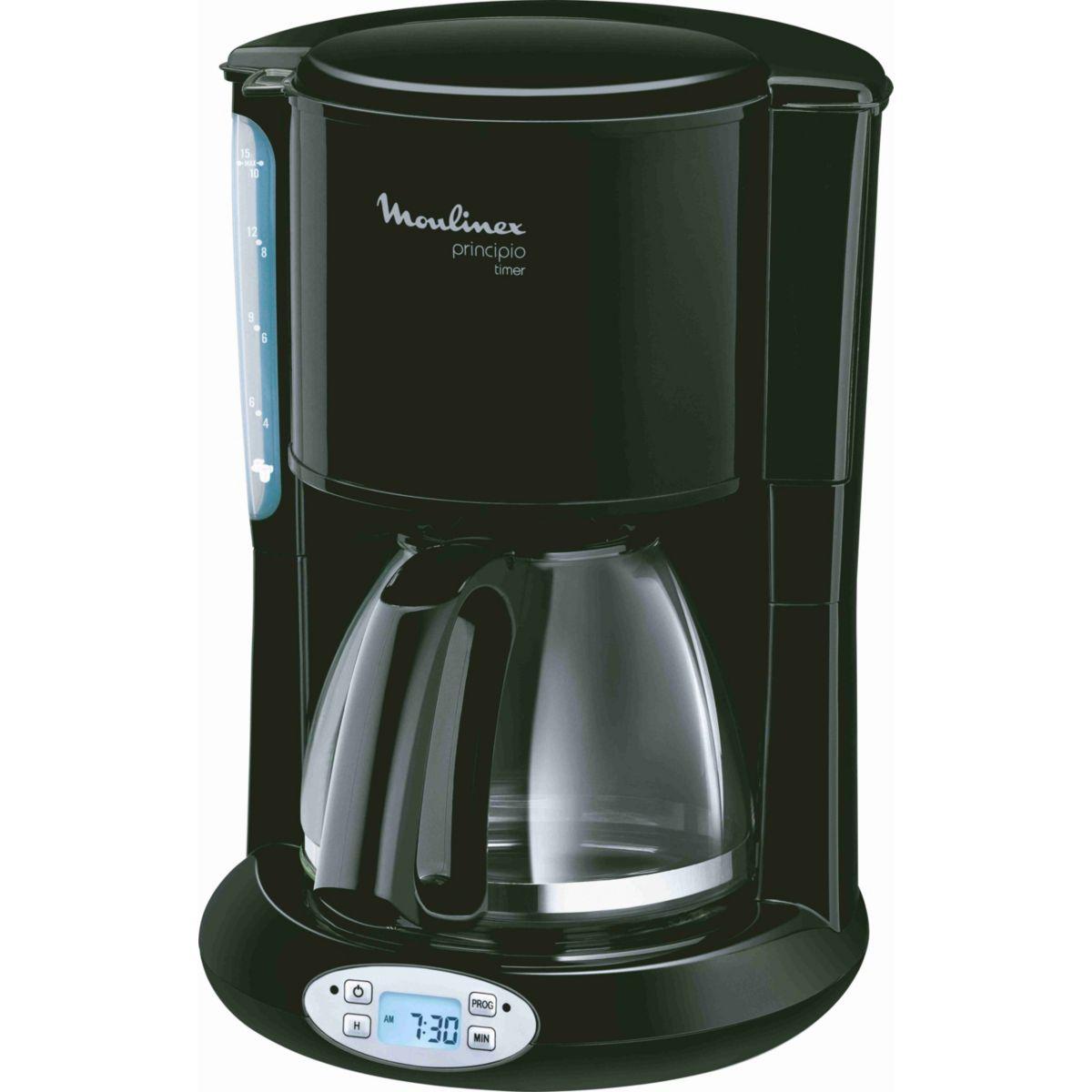 Cafeti�re programmable moulinex fg262810 principio noire (photo)