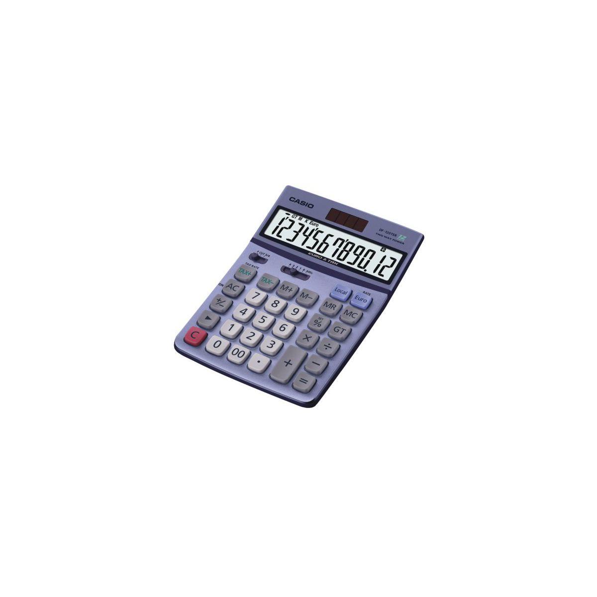 Calculatrice standard casio df 120ter ii (photo)