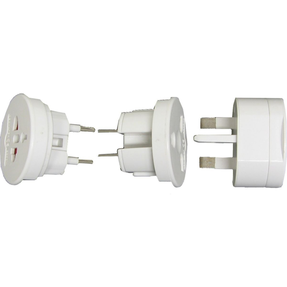 Adaptateur sc lot de 3 plugs (photo)