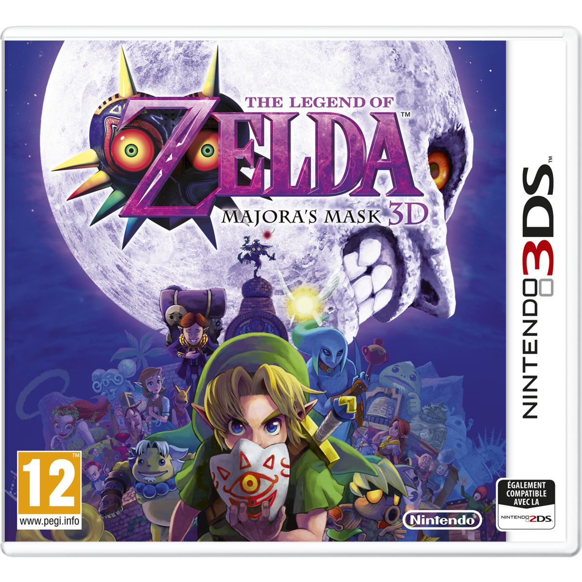 Jeu 3ds nintendo the legend of zelda majora's mask - 2% de remise immédiate avec le code : cool2 (photo)