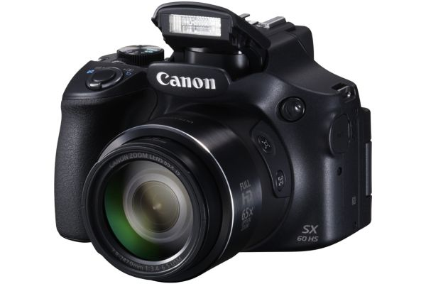 Appareil photo bridge canon sx60hs noir - livraison offerte : code livphoto (photo)