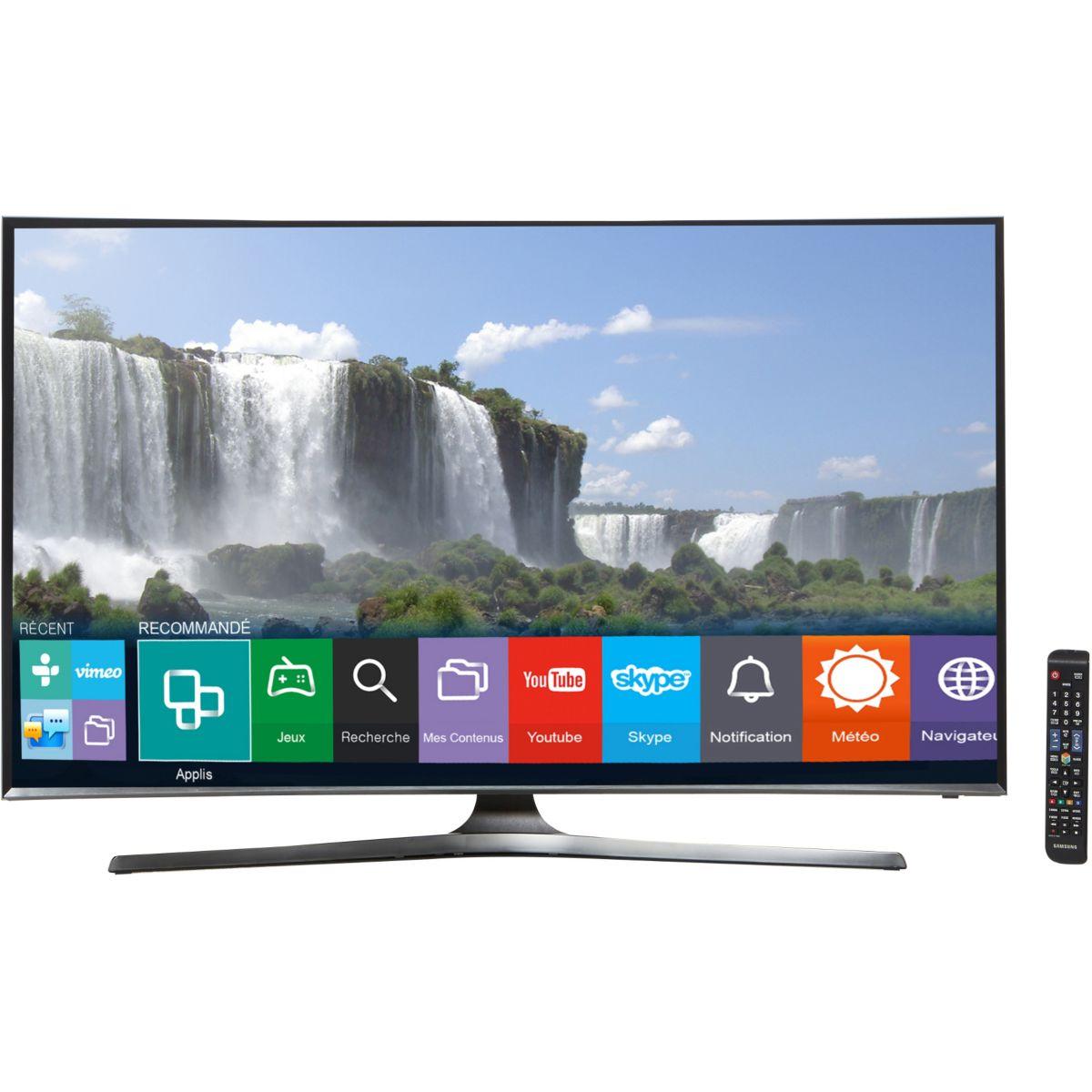 tv samsung ue48j6300 800hz cmr incurve smart tv ebay. Black Bedroom Furniture Sets. Home Design Ideas