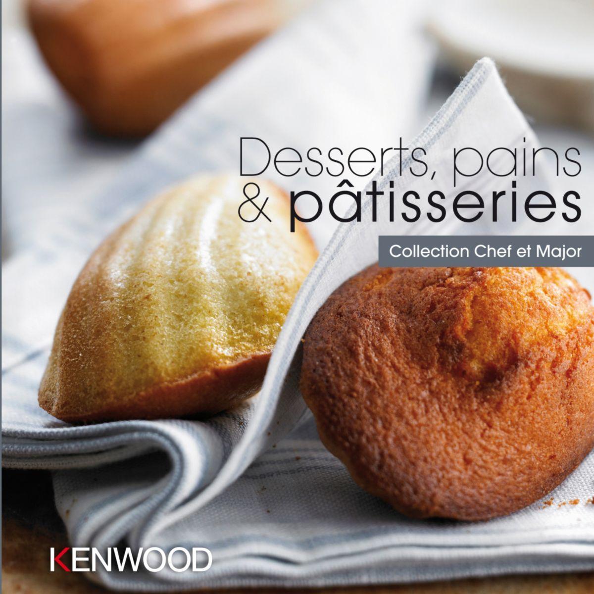 Livre de cuisine kenwood desserts, pains & p�tisseries - 20% de remise imm�diate avec le code : deal20 (photo)