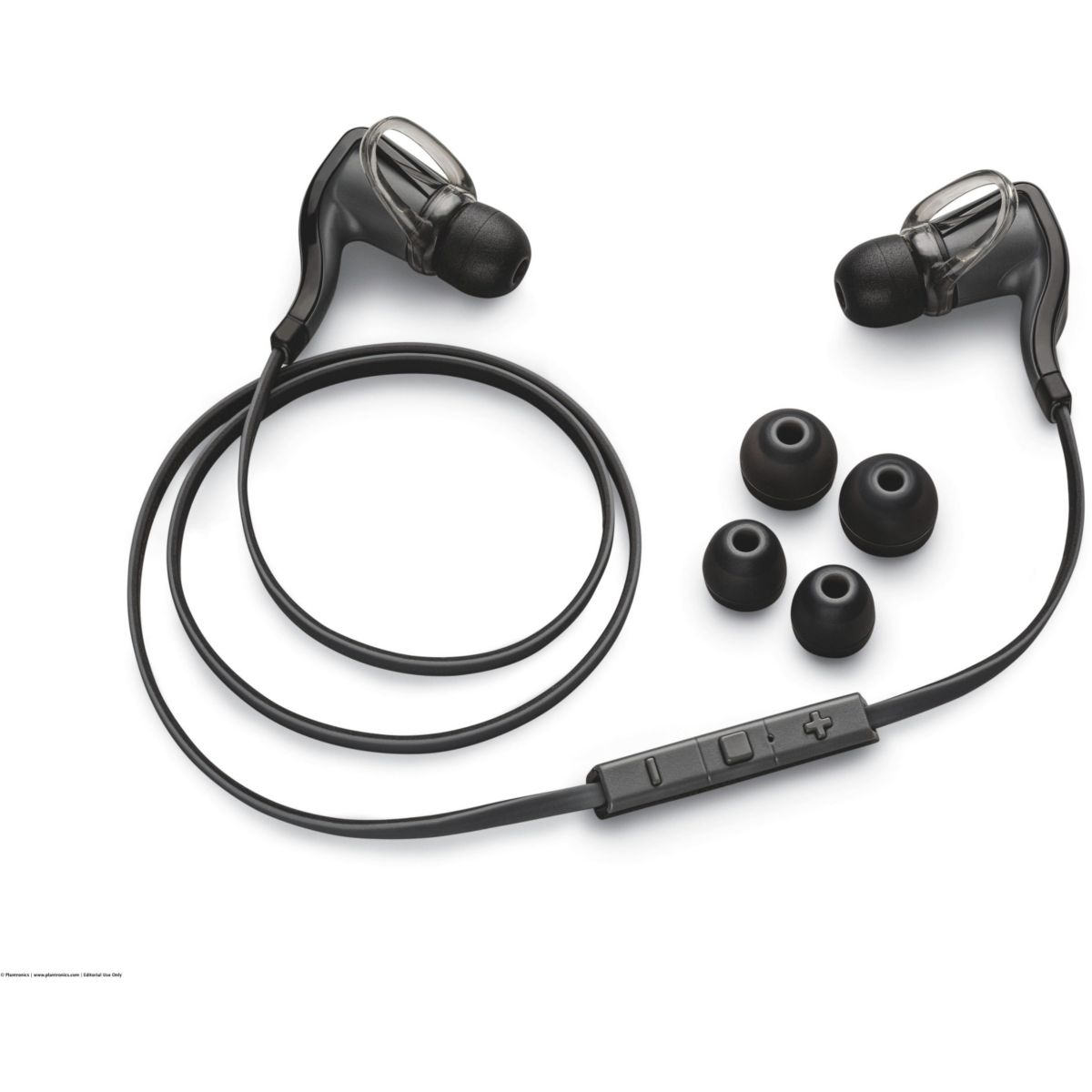 Casque sport plantronics backbeat go 2 black + charging case - 2% de remise imm�diate avec le code : noel2 (photo)