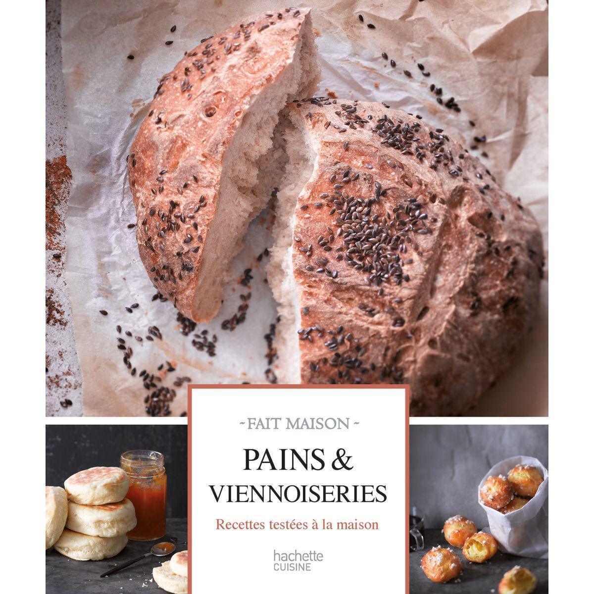Livre hachette pains et viennoiseries - la sélection webdistrib.com (photo)
