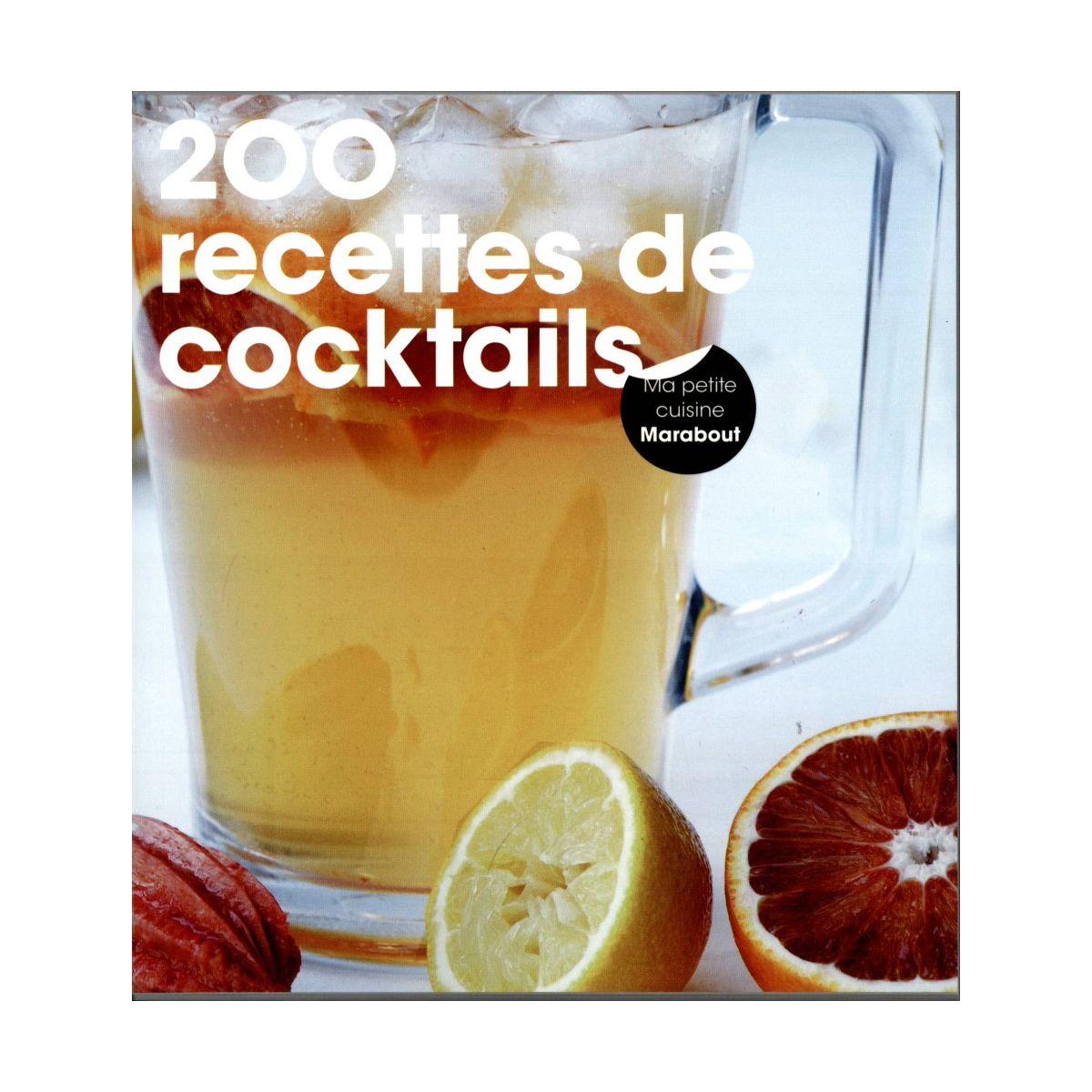Livre m 200 recettes de cocktails - la sélection webdistrib.com (photo)
