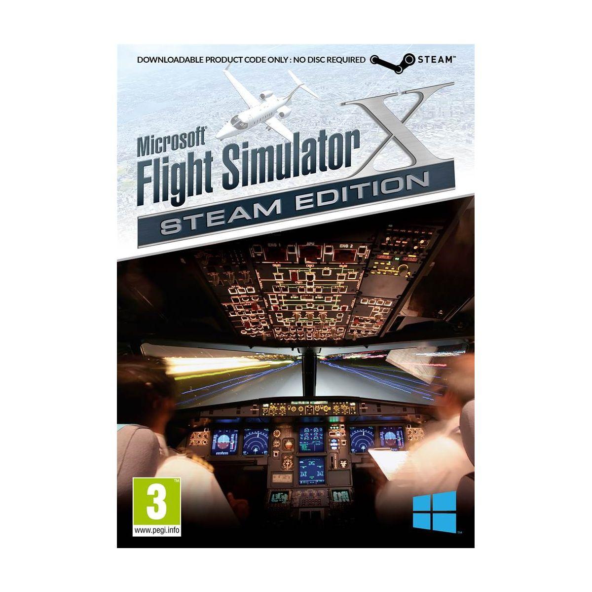 Jeu pc just for games flight simulator x gold - steam edition - 3% de remise immédiate avec le code : multi3 (photo)