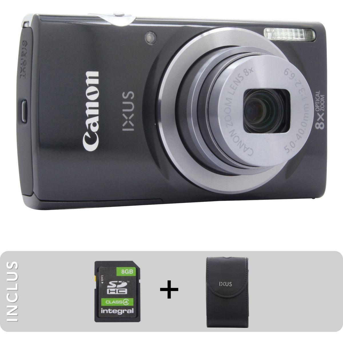 Appareil photo compact canon pack ixus 162 + etui + sd 8go - 10% de remise immédiate avec le code : photo10 (photo)