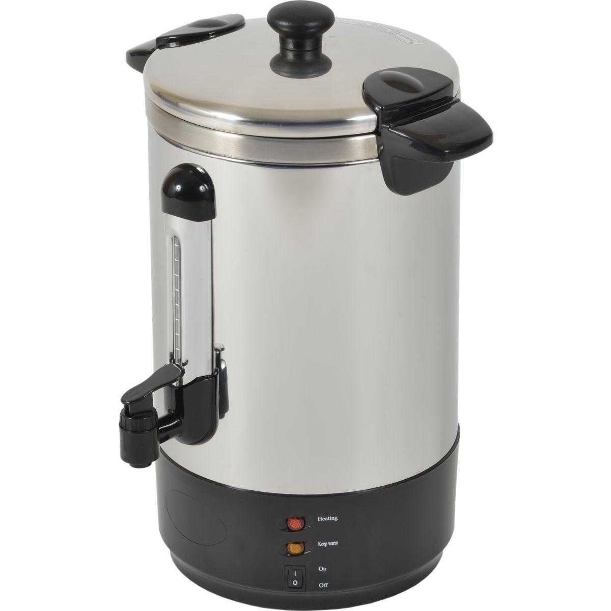 Cafetière filtre kitchen chef pro 15l zj-150 - 7% de remise immédiate avec le code : cool7 (photo)