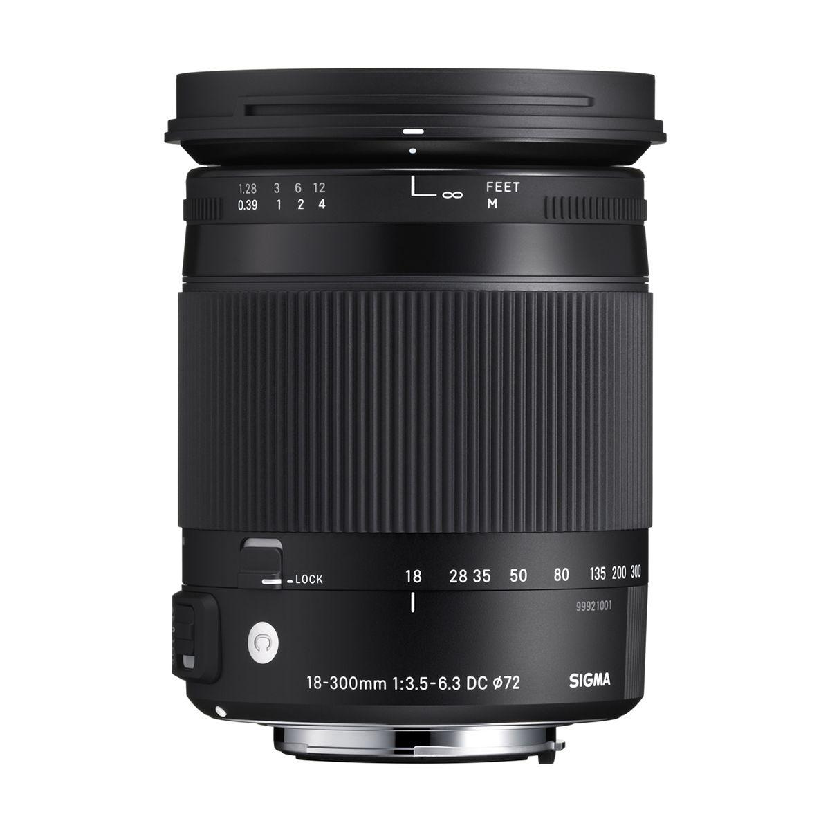 Objectif pour reflex sigma 18-300mm f/3.5-6.3 macro dc hsm sony