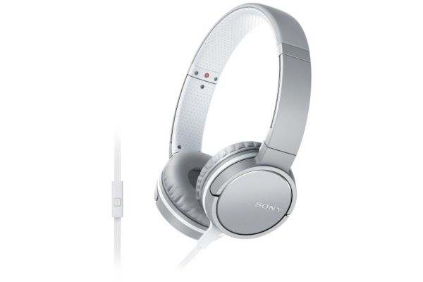 Casque audio sony mdrzx660 blanc - 5% de remise : code multi5