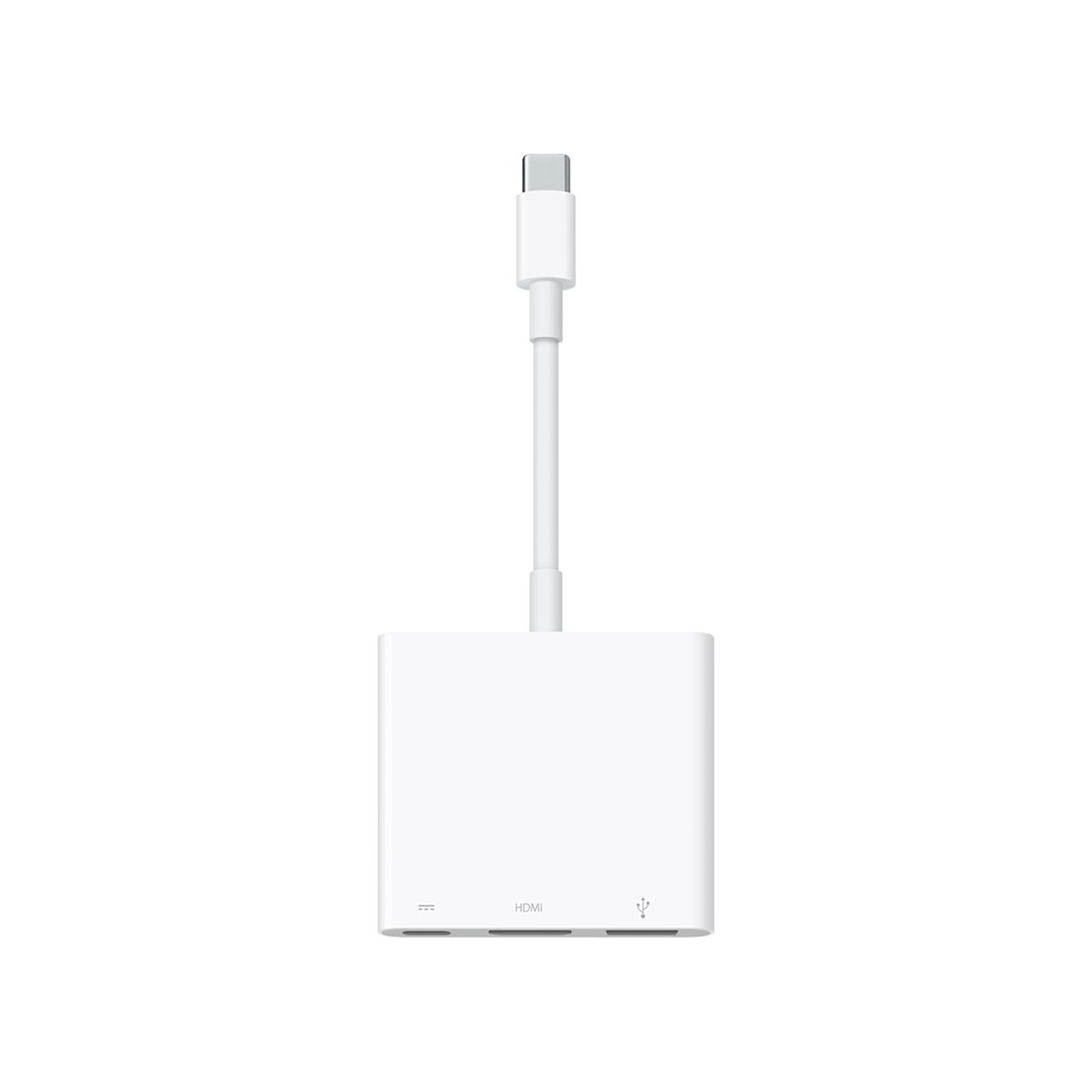 Adaptateur apple usb-c digital av multiport - livraison offerte : code liv (photo)