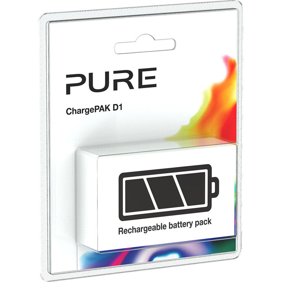 Batterie radio pure chargepak d1 - 15% de remise imm�diate avec le code : fete15 (photo)