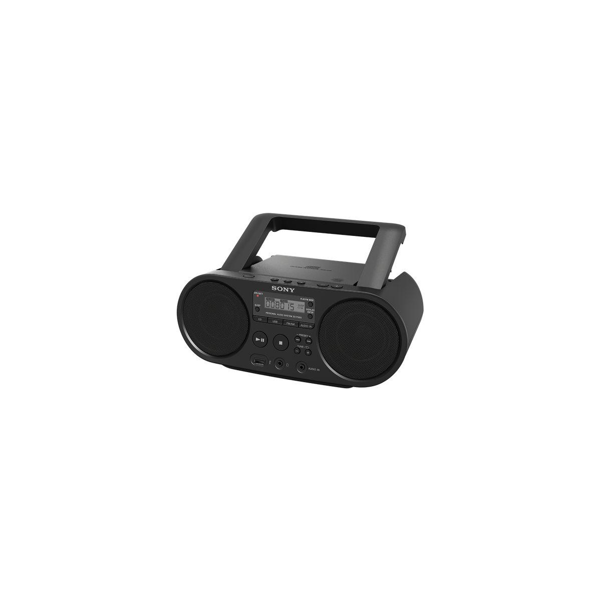 Radio cd sony zs-ps50 noir (photo)