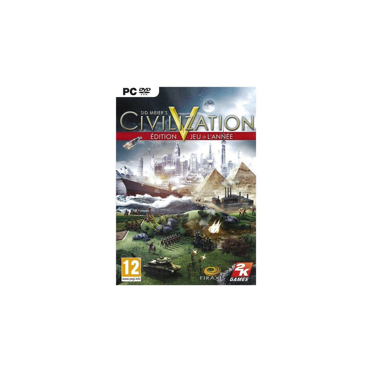 Jeu pc just for games civilization v goty - 3% de remise immédiate avec le code : multi3 (photo)