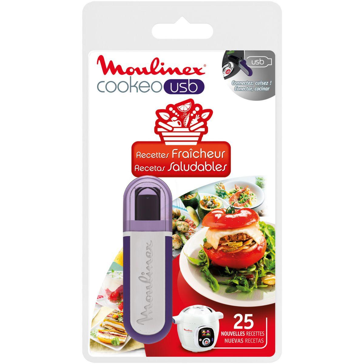 Clé usb moulinex clé usb cookeo- 25 recettes (photo)