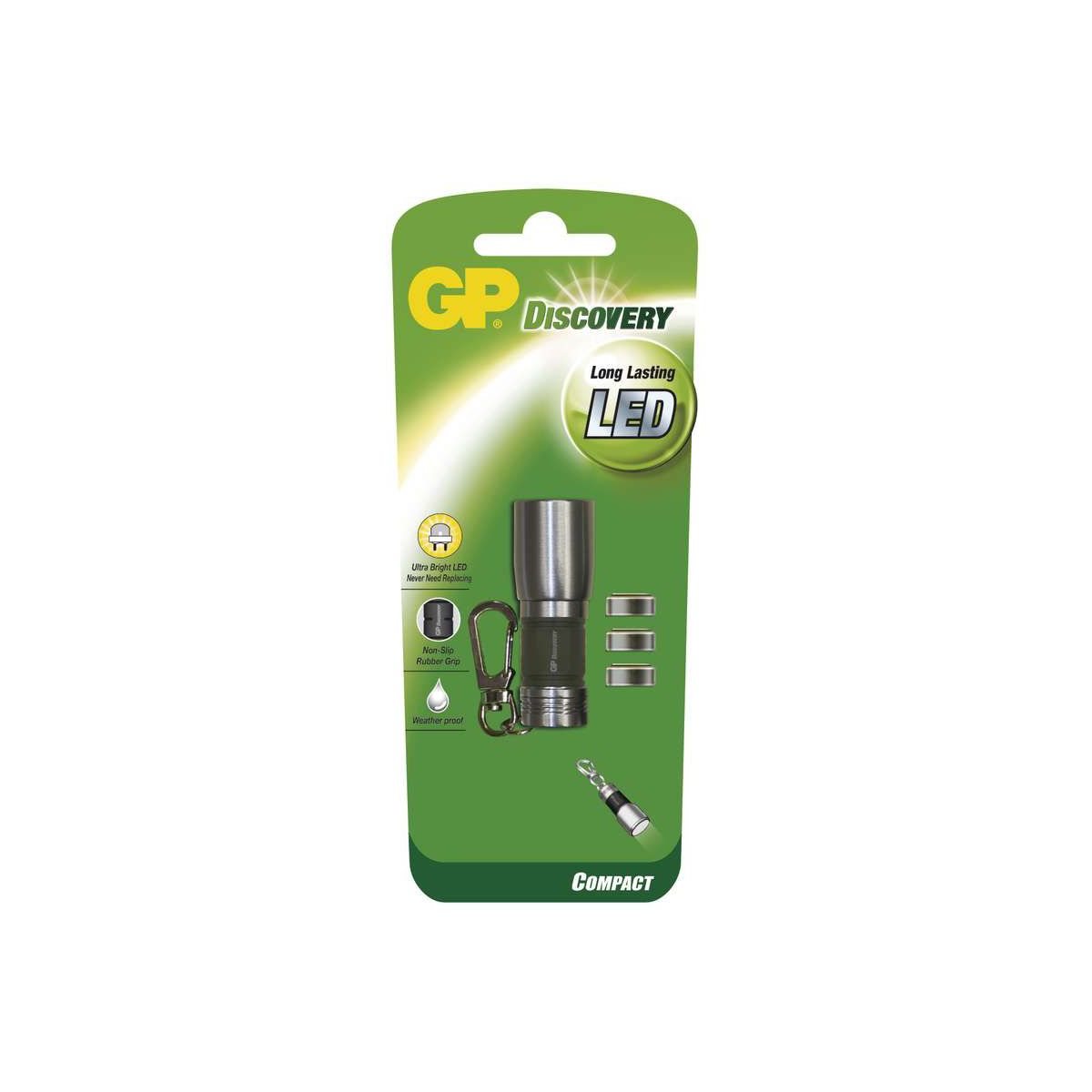 Torche gp discovery long lasting led + 3 (photo)
