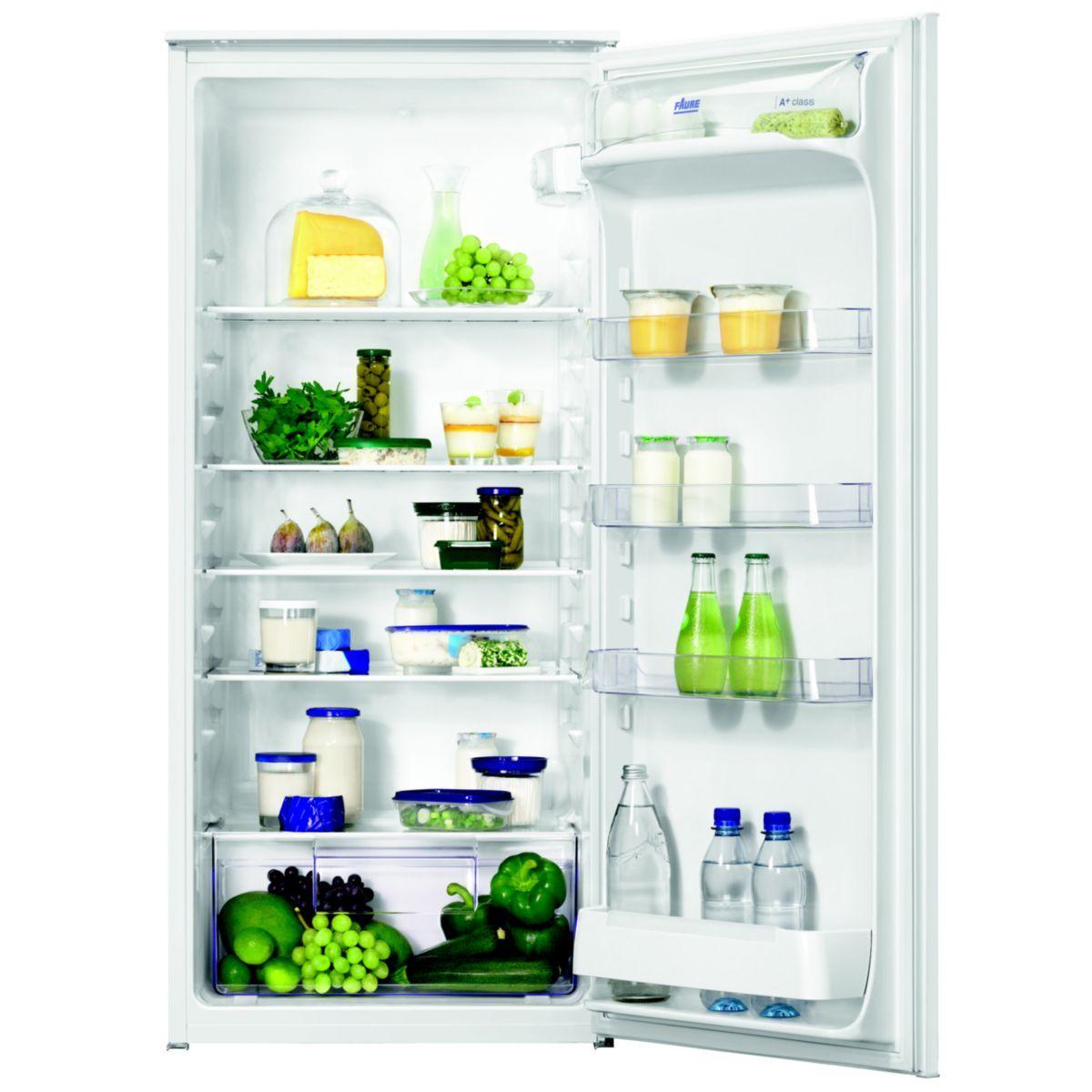 Réfrigérateur encastrable faure fba22021sa - 15% de remise immédiate avec le code : cool15 (photo)