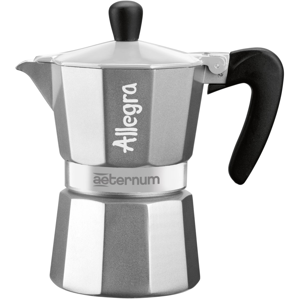 Cafeti�re italienne bialetti allegra in sleeve silver 3 t. expresso (photo)