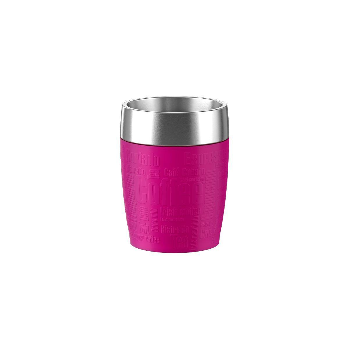 Mug emsa isotherme 0.2l inox/framboise - 5% de remise immédiate avec le code : cash5 (photo)