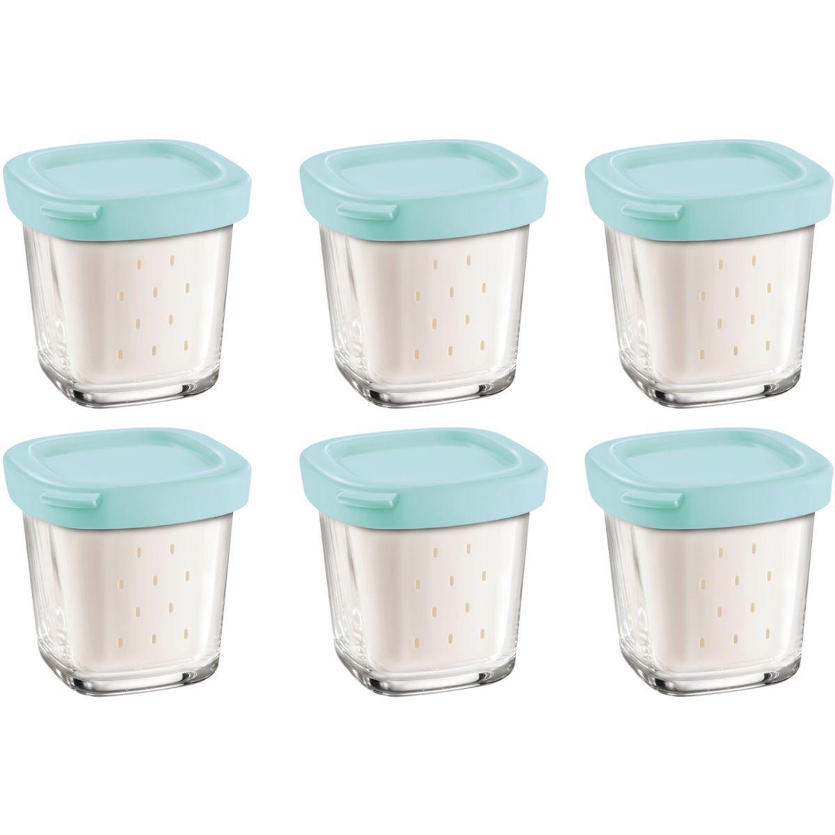 Pots seb xf100101 6 pots yaourt pour del - 15% de remise immédiate avec le code : cool15 (photo)