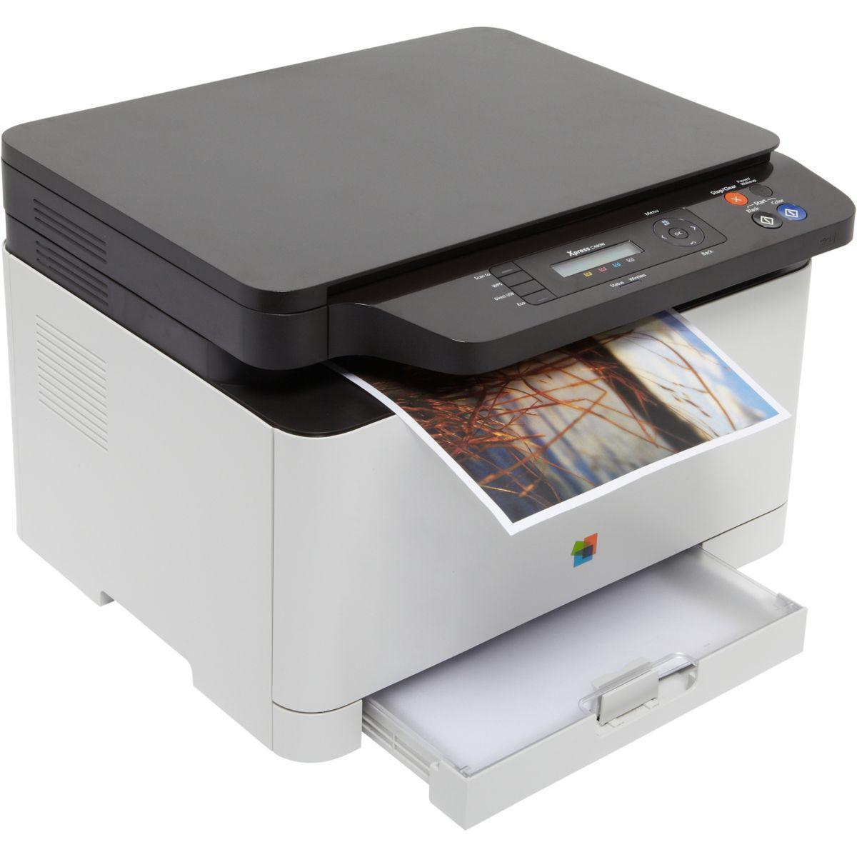 Imprimante multifonction laser couleur samsung sl-c480w - livraison offerte : code liv (photo)