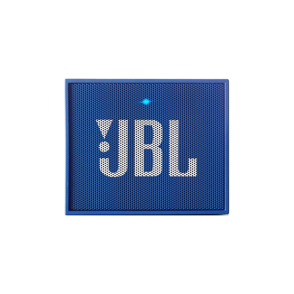 Enceinte nomade jbl go bleu - livraison offerte : code liv (photo)