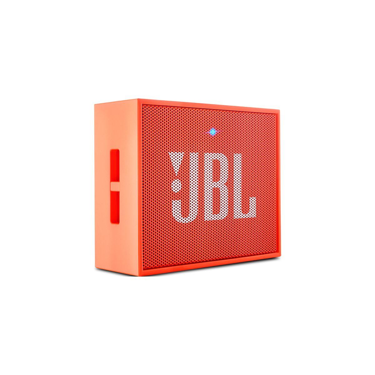 Enceinte bluetooth jbl go orange (photo)