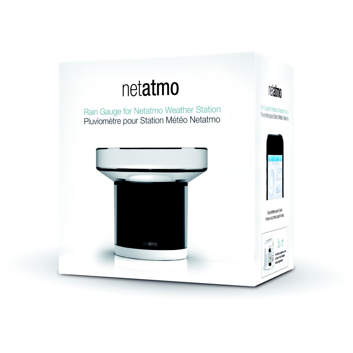 Pluviom�tre connect� netatmo pluviom�tre pour station m�t�o - livraison offerte : code premium (photo)