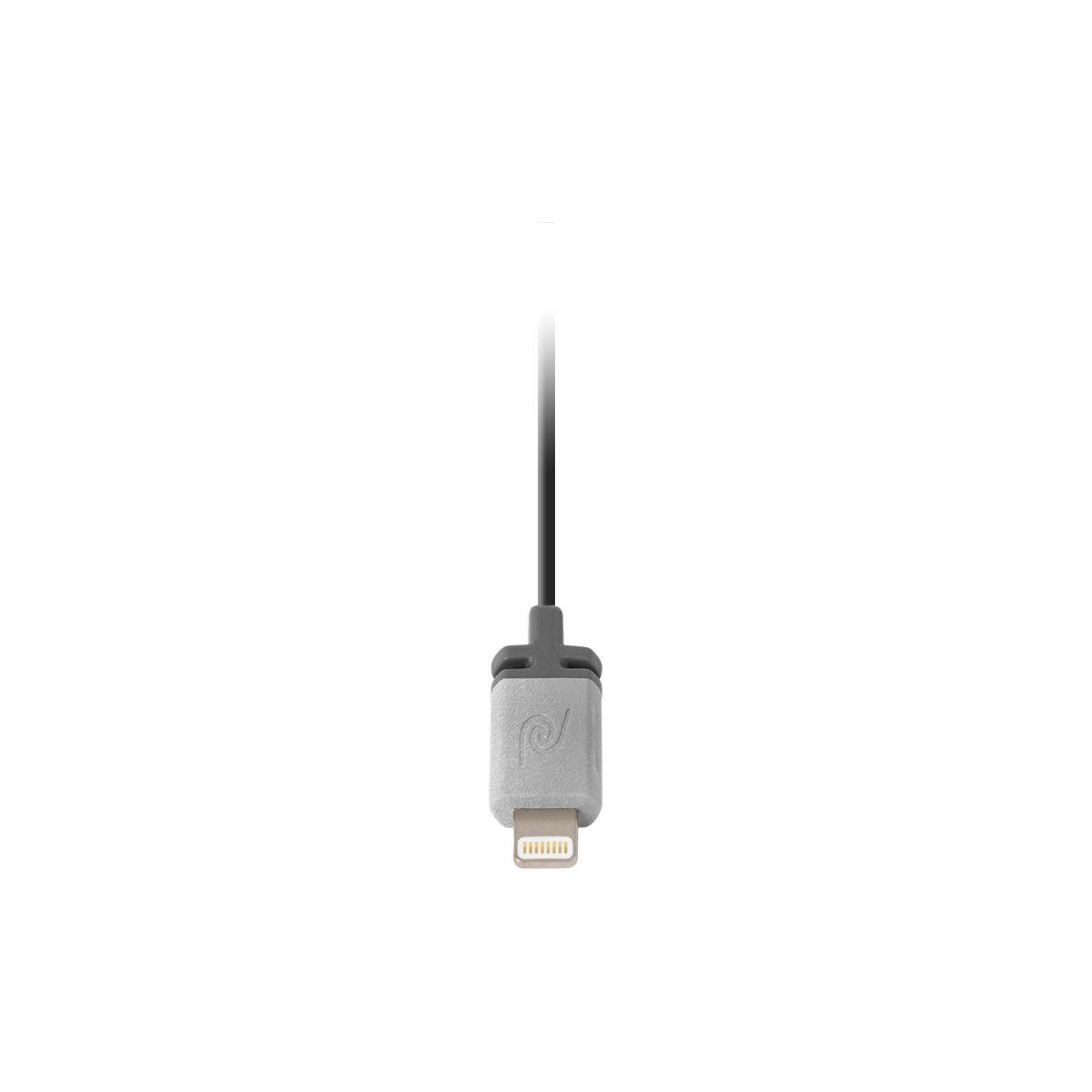 Câble lightning retrak silver - 15% de remise immédiate avec le code : multi15 (photo)