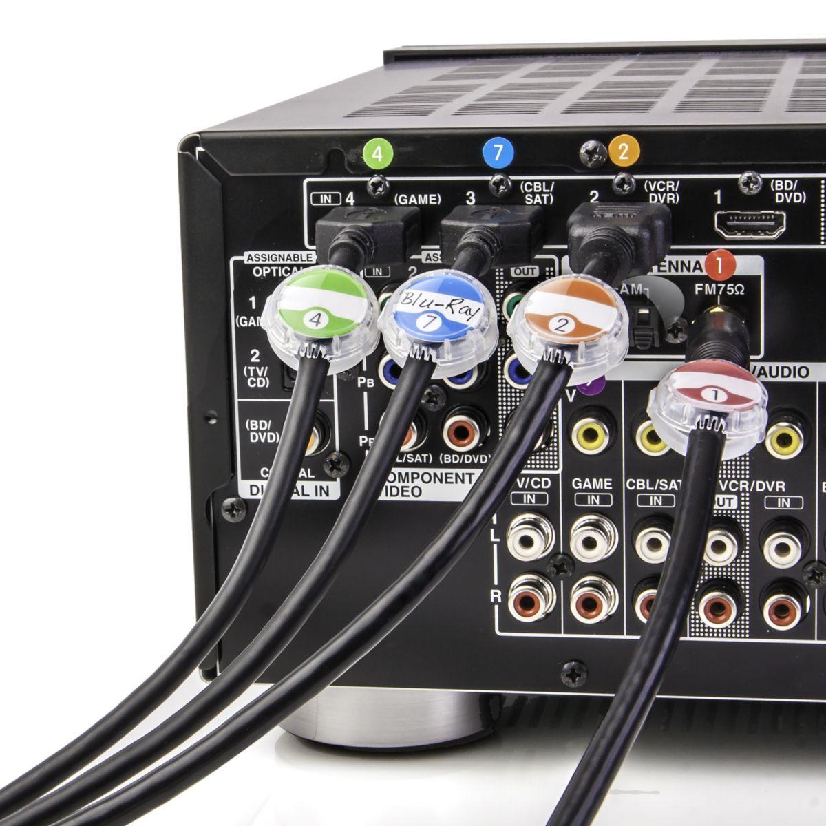 Dotz kit d'identif. câble pack de 12 (photo)