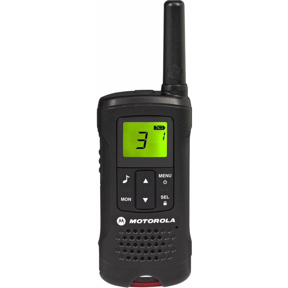 Talkie walkie motorola t60 - livraison offerte : code premium (photo)