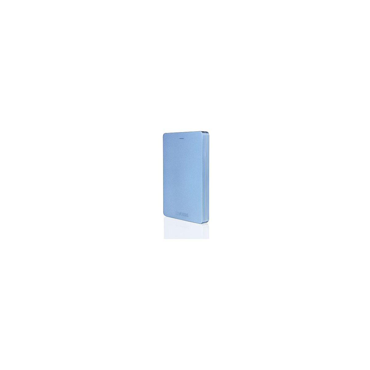 Disque dur externe de poche toshiba 2,5 500go canvio alu 3s - 3% de remise immédiate avec le code : multi3
