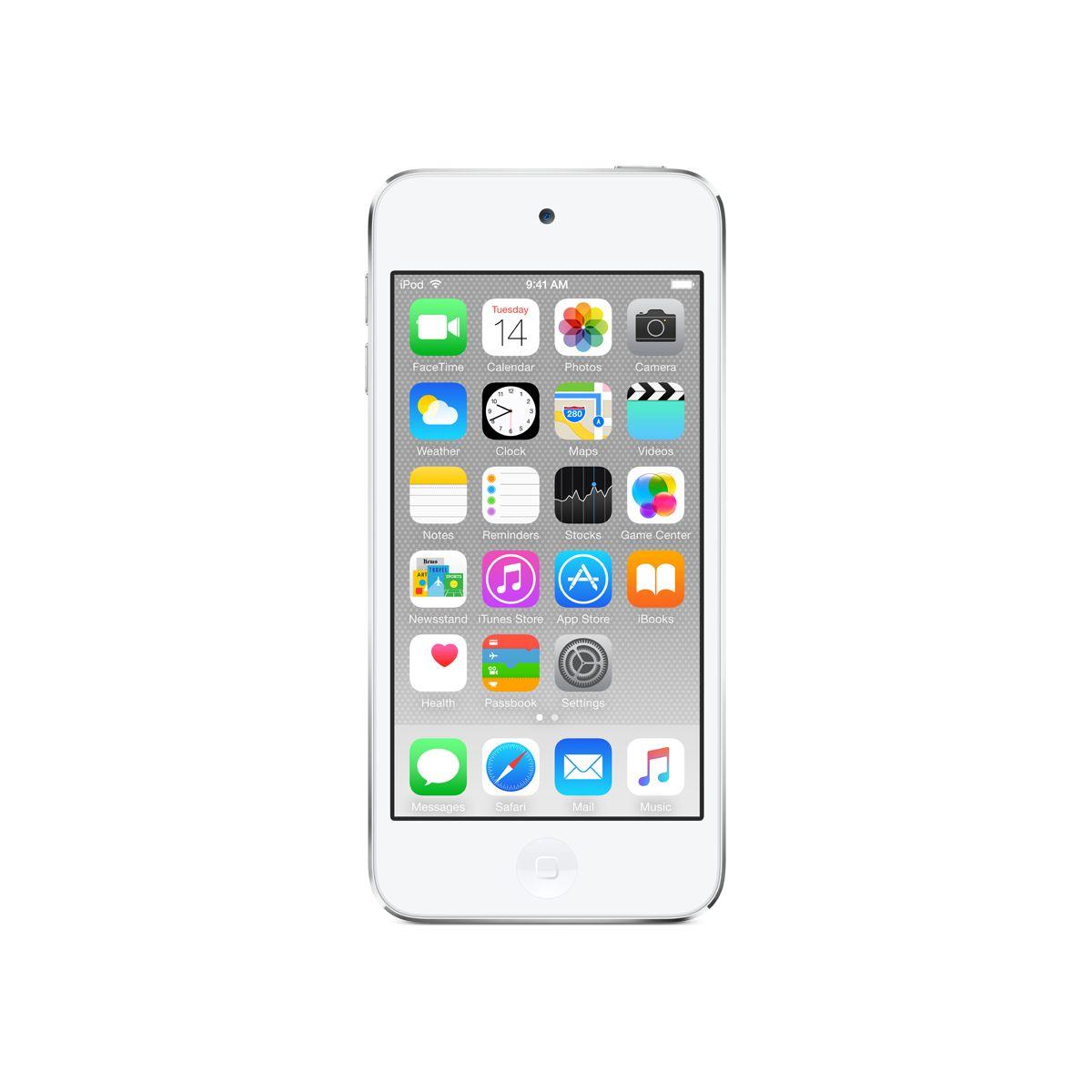 Apple ipod touch 64 go argent - 2% de remise immédiate avec le code : top2 (photo)