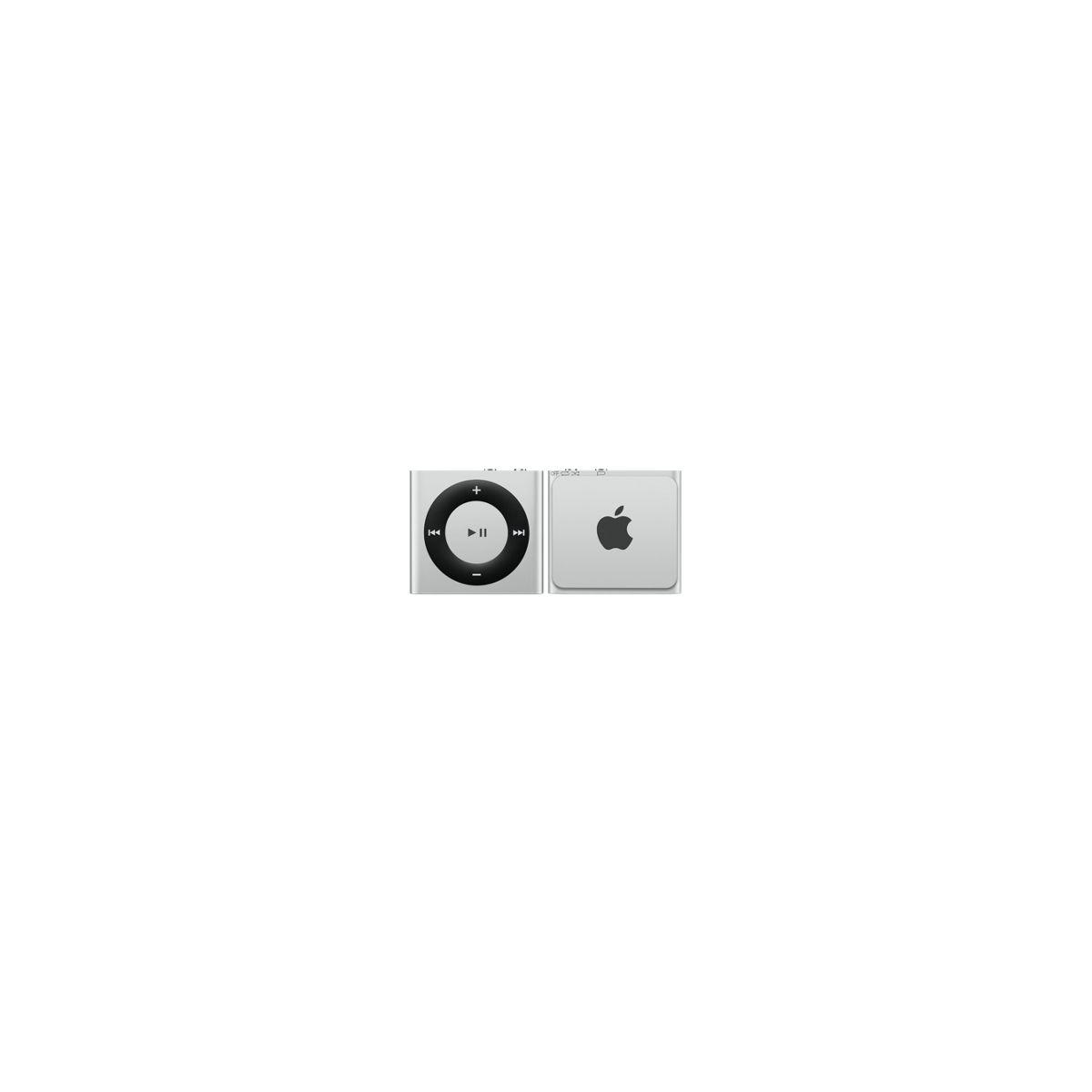 Apple ipod shuffle 2 go argent - 2% de remise immédiate avec le code : top2 (photo)