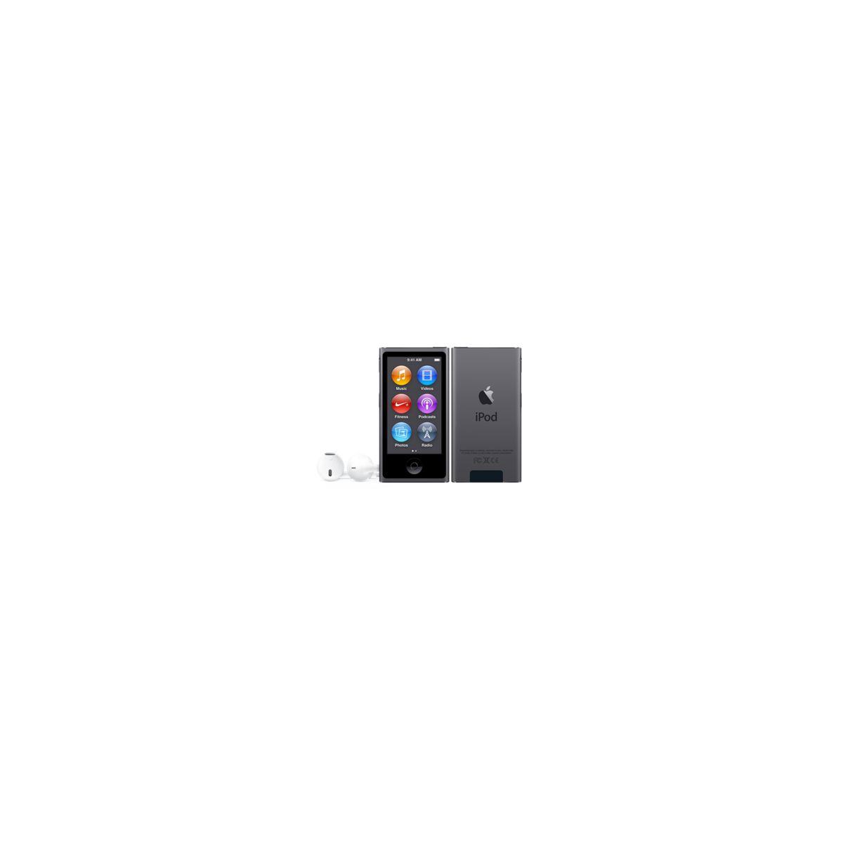 Apple ipod nano 16 go gris sidéral - 2% de remise immédiate avec le code : top2 (photo)